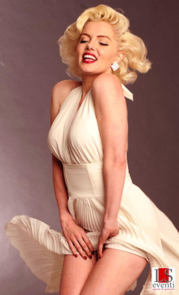 Suzie as Marilyn Monroe