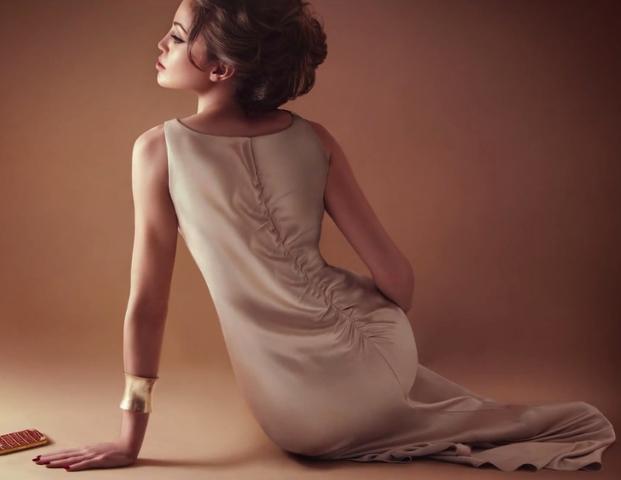 Lina as Angelina Jolie
