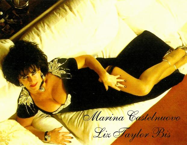 Marina as Liz Taylor