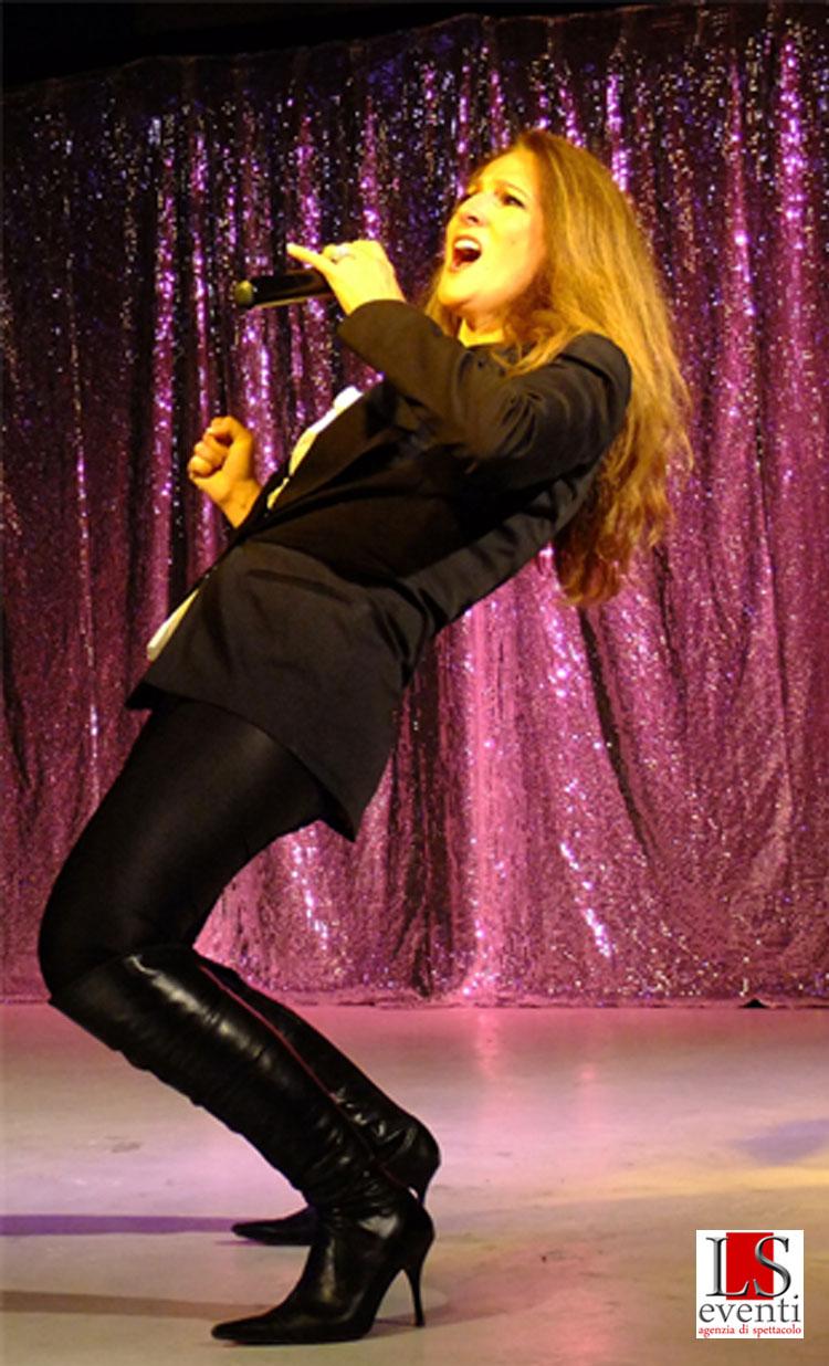 Nayah as Celine Dion